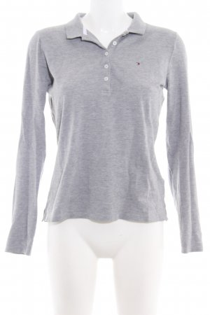 Tommy Hilfiger Camiseta tipo polo gris claro look casual