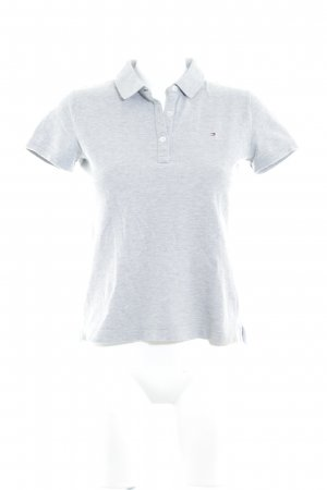 Tommy Hilfiger Polo-Shirt hellgrau Segel-Look