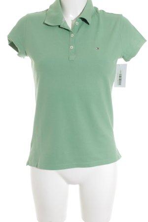 Tommy Hilfiger Polo-Shirt hellgrün sportlicher Stil