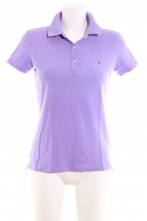 Tommy Hilfiger Polo-Shirt helllila Casual-Look