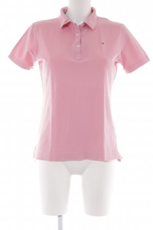 Tommy Hilfiger Polo-Shirt hellrosa Casual-Look