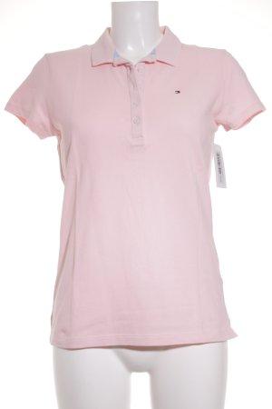 Tommy Hilfiger Polo-Shirt hellrosa klassischer Stil
