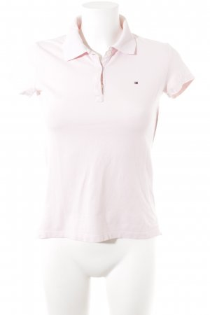 Tommy Hilfiger Polo rose clair style simple