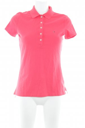 Tommy Hilfiger Polo-Shirt hellrot Casual-Look