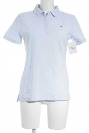 Tommy Hilfiger Polo-Shirt himmelblau Business-Look