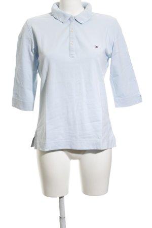 Tommy Hilfiger Polo-Shirt himmelblau-hellblau klassischer Stil