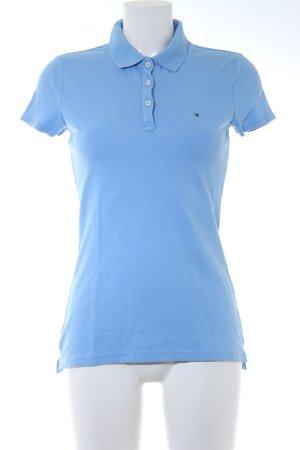 Tommy Hilfiger Polo-Shirt himmelblau schlichter Stil