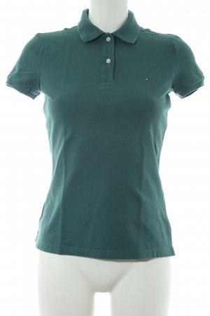 Tommy Hilfiger Camiseta tipo polo azul cadete look casual