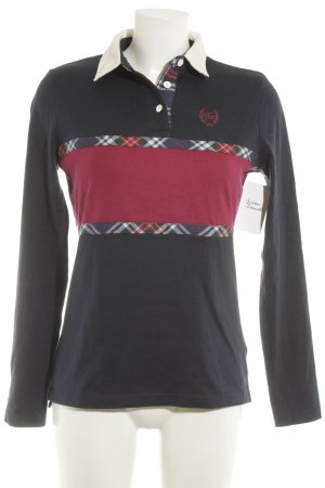 Tommy Hilfiger Polo-Shirt Karomuster College-Look