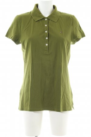 Tommy Hilfiger Polo-Shirt khaki Casual-Look