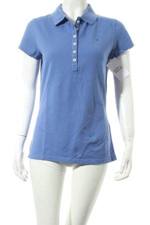 Tommy Hilfiger Polo-Shirt kornblumenblau Casual-Look