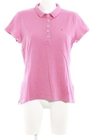 Tommy Hilfiger Polo-Shirt lachs Elegant