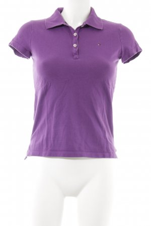 Tommy Hilfiger Camiseta tipo polo lila look casual