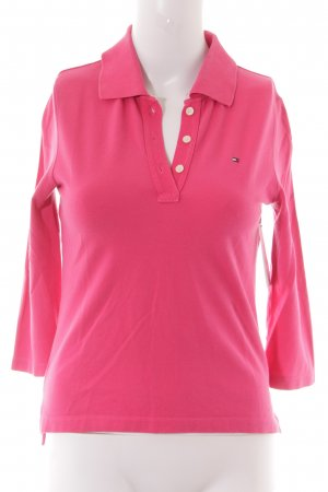 Tommy Hilfiger Polo magenta stile casual