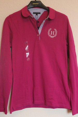 Tommy Hilfiger Polo-Shirt  magenta Gr S  36