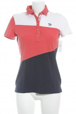 Tommy Hilfiger Polo-Shirt mehrfarbig Segel-Look