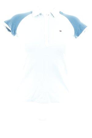 Tommy Hilfiger Polo-Shirt mehrfarbig sportlicher Stil