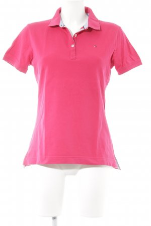 Tommy Hilfiger Polo shirt veelkleurig atletische stijl