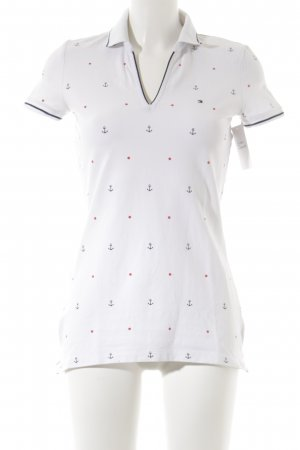 Tommy Hilfiger Polo Shirt themed print casual look
