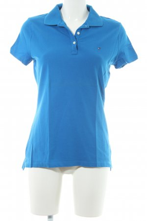 Tommy Hilfiger Polo-Shirt neonblau Casual-Look