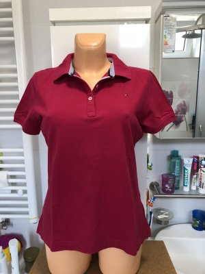 Tommy Hilfiger Polo magenta-rosa
