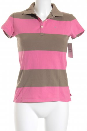 Tommy Hilfiger Polo-Shirt pink-hellbraun Casual-Look