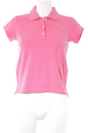 Tommy Hilfiger Polo-Shirt pink sportlicher Stil