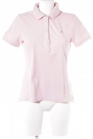 Tommy Hilfiger Polo-Shirt rosa Casual-Look