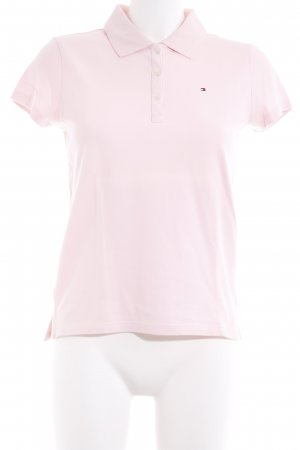 Tommy Hilfiger Polo rosa pallido stile casual