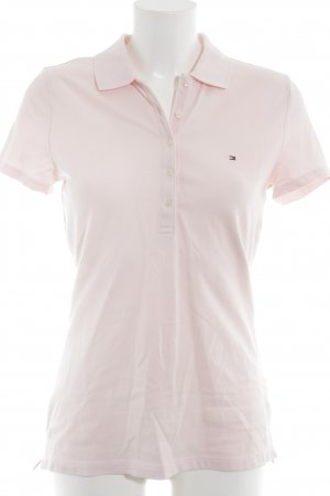 Tommy Hilfiger Polo-Shirt rosé Casual-Look