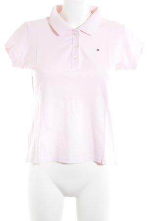 Tommy Hilfiger Polo-Shirt rosé-hellrosa klassischer Stil
