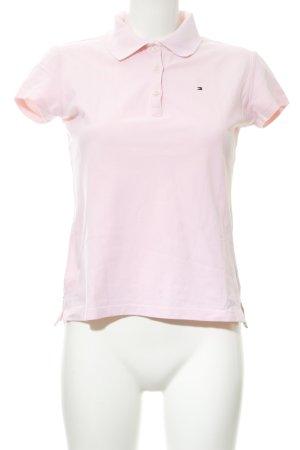 Tommy Hilfiger Polo-Shirt rosé klassischer Stil