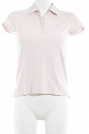 Tommy Hilfiger Polo-Shirt rosé schlichter Stil