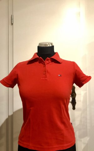 Tommy Hilfiger Polo Shirt Rot