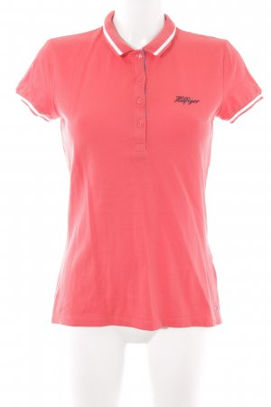 Tommy Hilfiger Polo shirt geborduurde letters casual uitstraling