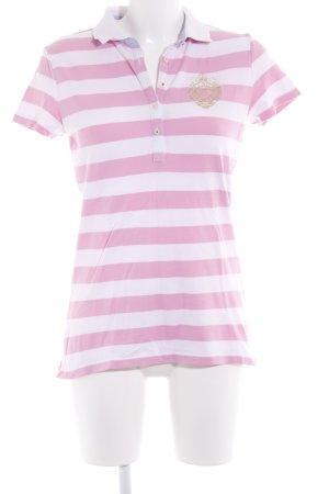 Tommy Hilfiger Polo-Shirt Schriftzug gestickt sportlicher Stil