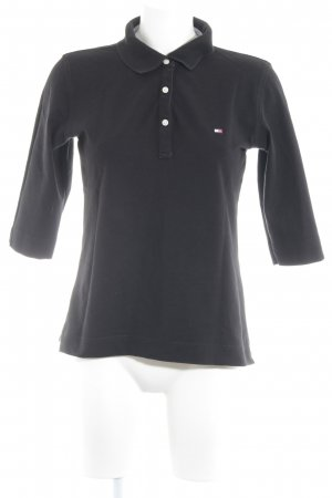 Tommy Hilfiger Polo-Shirt schwarz klassischer Stil
