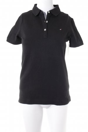Tommy Hilfiger Polo Shirt black classic style
