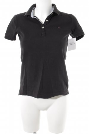 Tommy Hilfiger Polo noir style simple