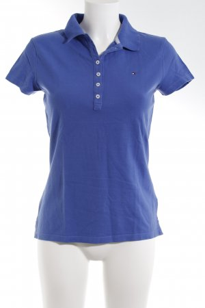 Tommy Hilfiger Polo-Shirt stahlblau Casual-Look