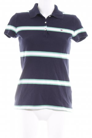 Tommy Hilfiger Polo-Shirt Streifenmuster Casual-Look