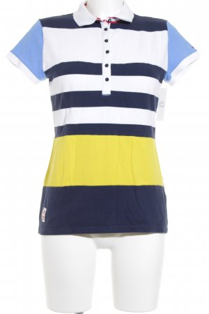 Tommy Hilfiger Polo motivo a righe stile casual