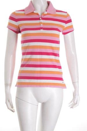 Tommy Hilfiger Polo-Shirt Streifenmuster klassischer Stil