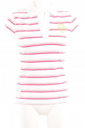 Tommy Hilfiger Polo Shirt striped pattern simple style