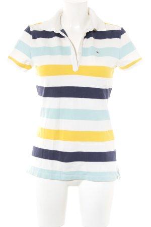 Tommy Hilfiger Polo-Shirt Streifenmuster sportlicher Stil