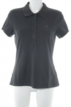 Tommy Hilfiger Polo-Shirt taupe Casual-Look