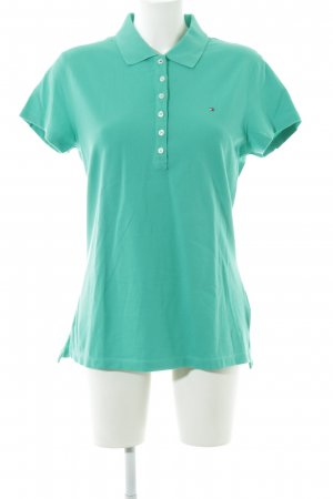 Tommy Hilfiger Polo Shirt turquoise casual look