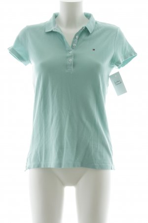 Tommy Hilfiger Polo turchese stile casual