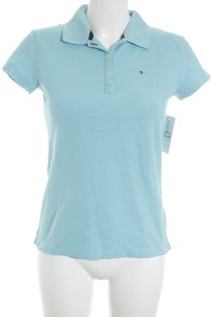 Tommy Hilfiger Polo-Shirt türkis schlichter Stil
