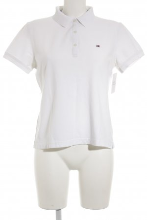 Tommy Hilfiger Polo bianco stile casual